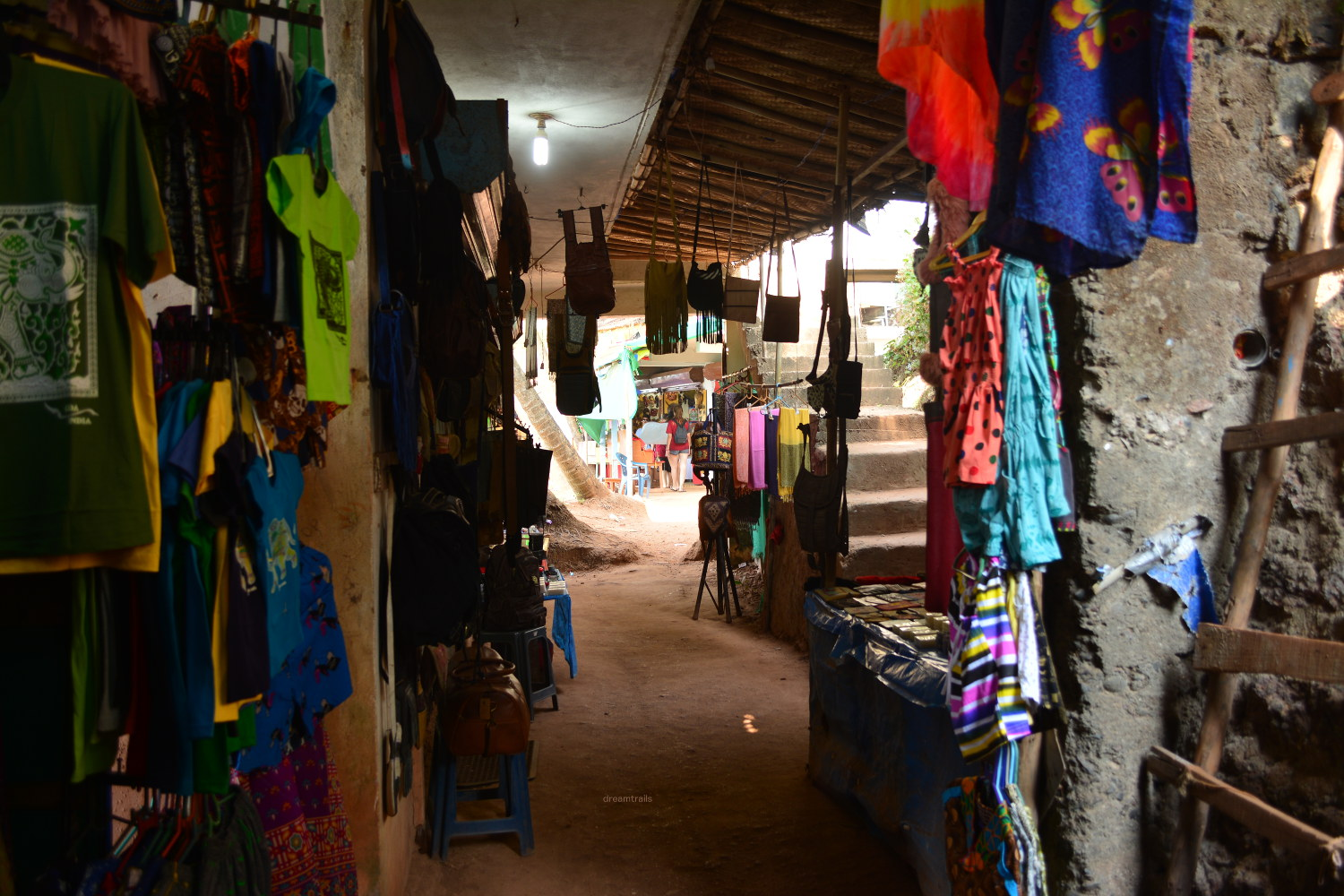 Market at Arambol Beach