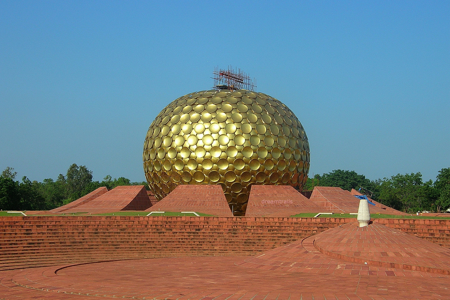 Matri Mandir, Auroville, Pondicherry
