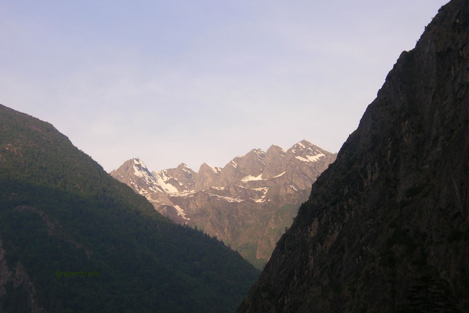 On the way to Badrinath