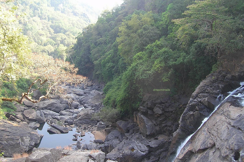 Bennehole Falls, Karnataka