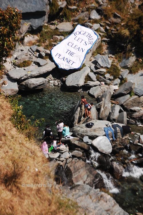 Near Bhagsunag Waterfalls, Dharamsala, Himachal Pradesh