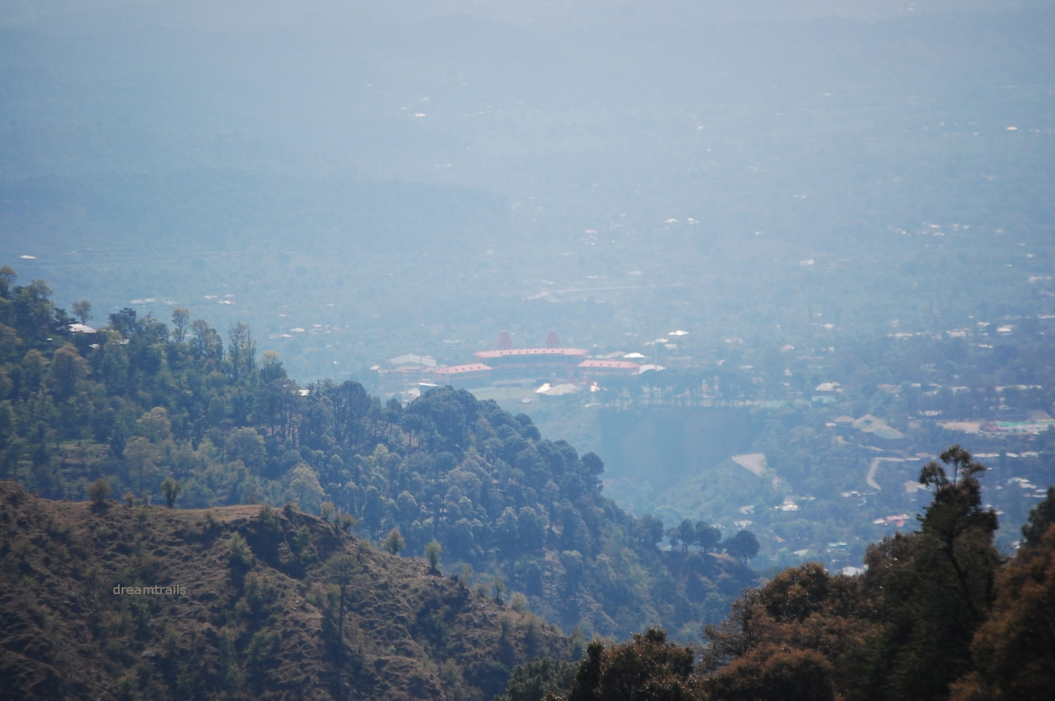View of Dharamsala Town