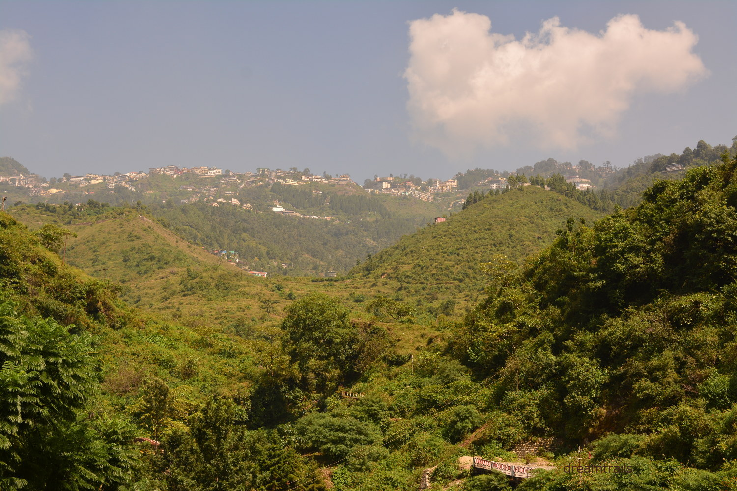Valley near Bhatta Falls, Mussoorie