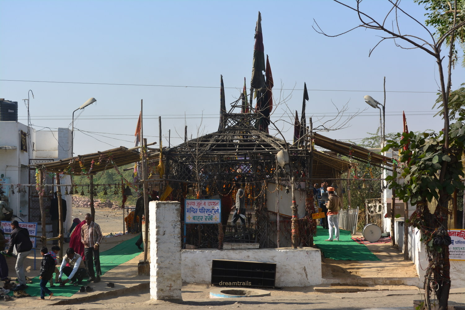 Bullet Baba Temple