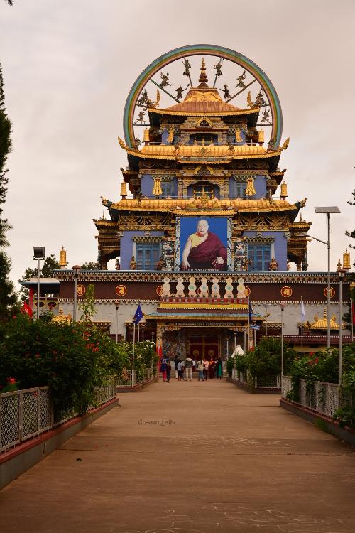 Golden Temple, Bylakuppe, Coorg, Karnataka