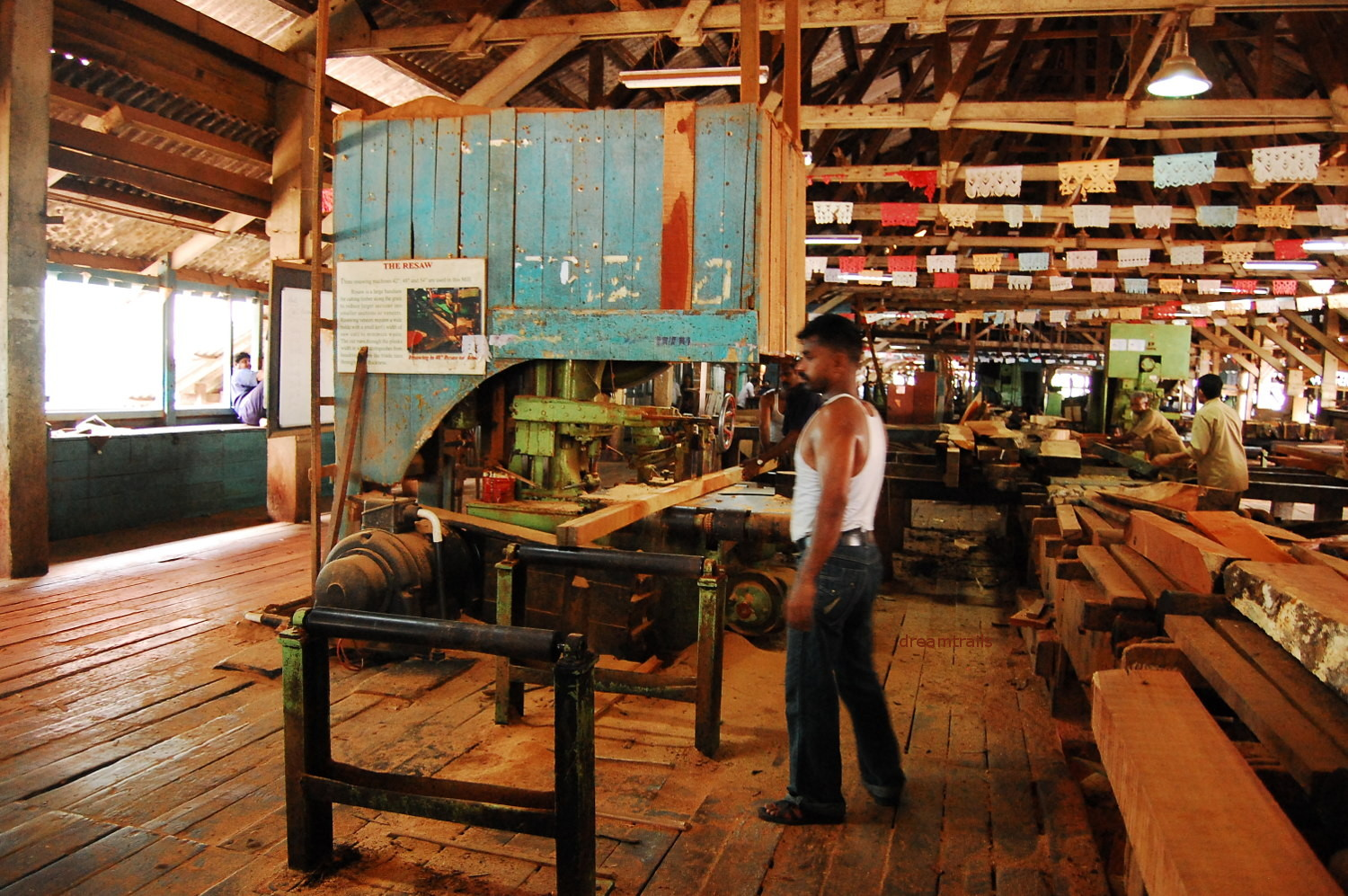 Chatham Saw Mill, Port Blair, Andaman & Nicobar Islands