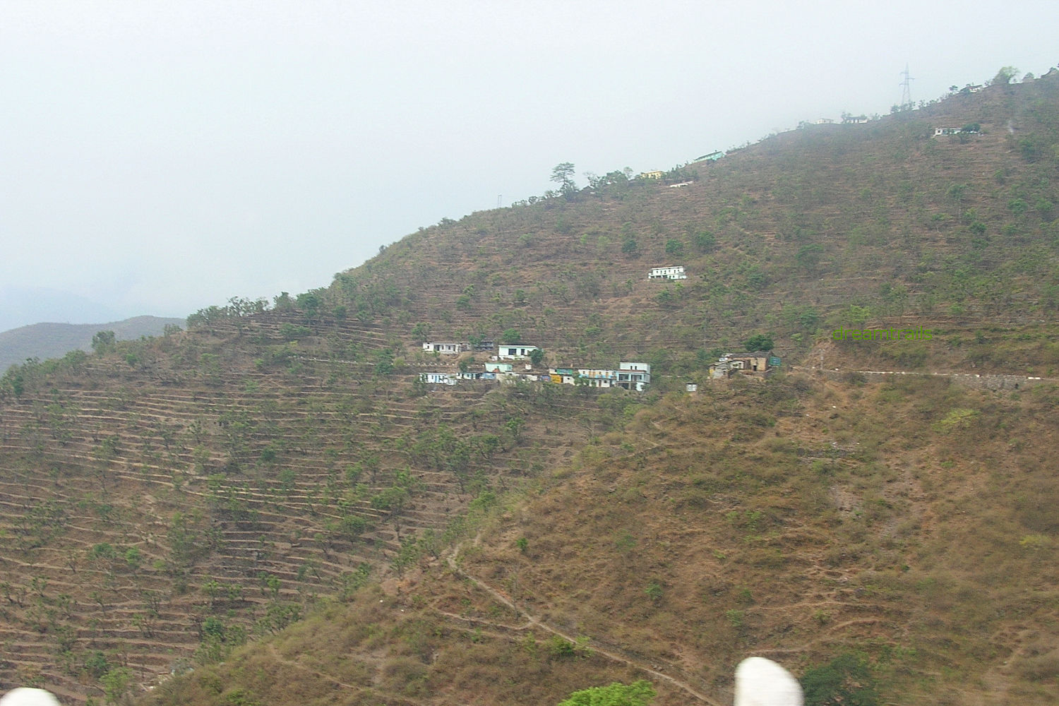 Villages in the hills
