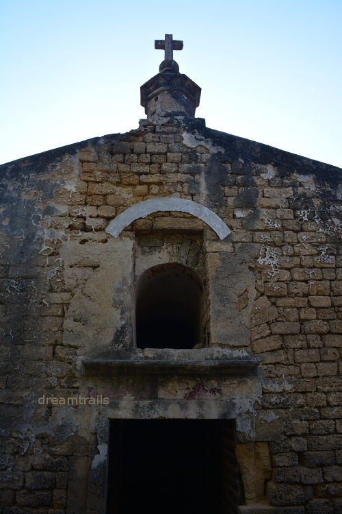 Church inside Diu Fort