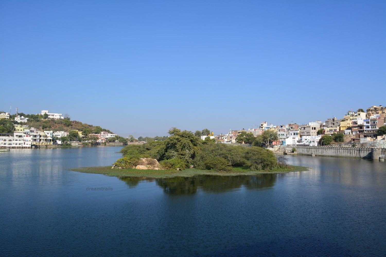 Fateh Sagar Lake, Udaipur, Rajasthan