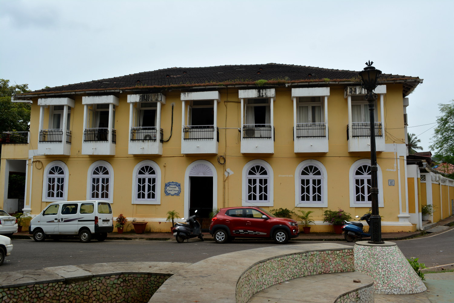 Building at Fontainhas