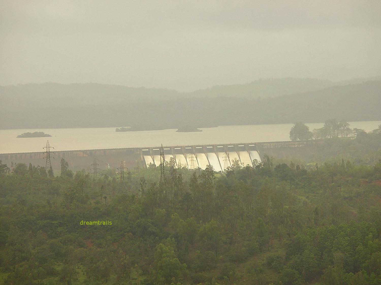 Linganamakki Dam, near Jog Falls, Karnataka