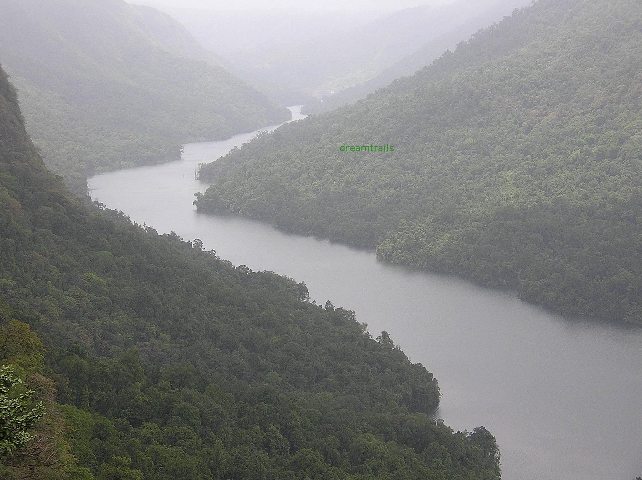 River Sharavati, Jog Falls, Karnataka