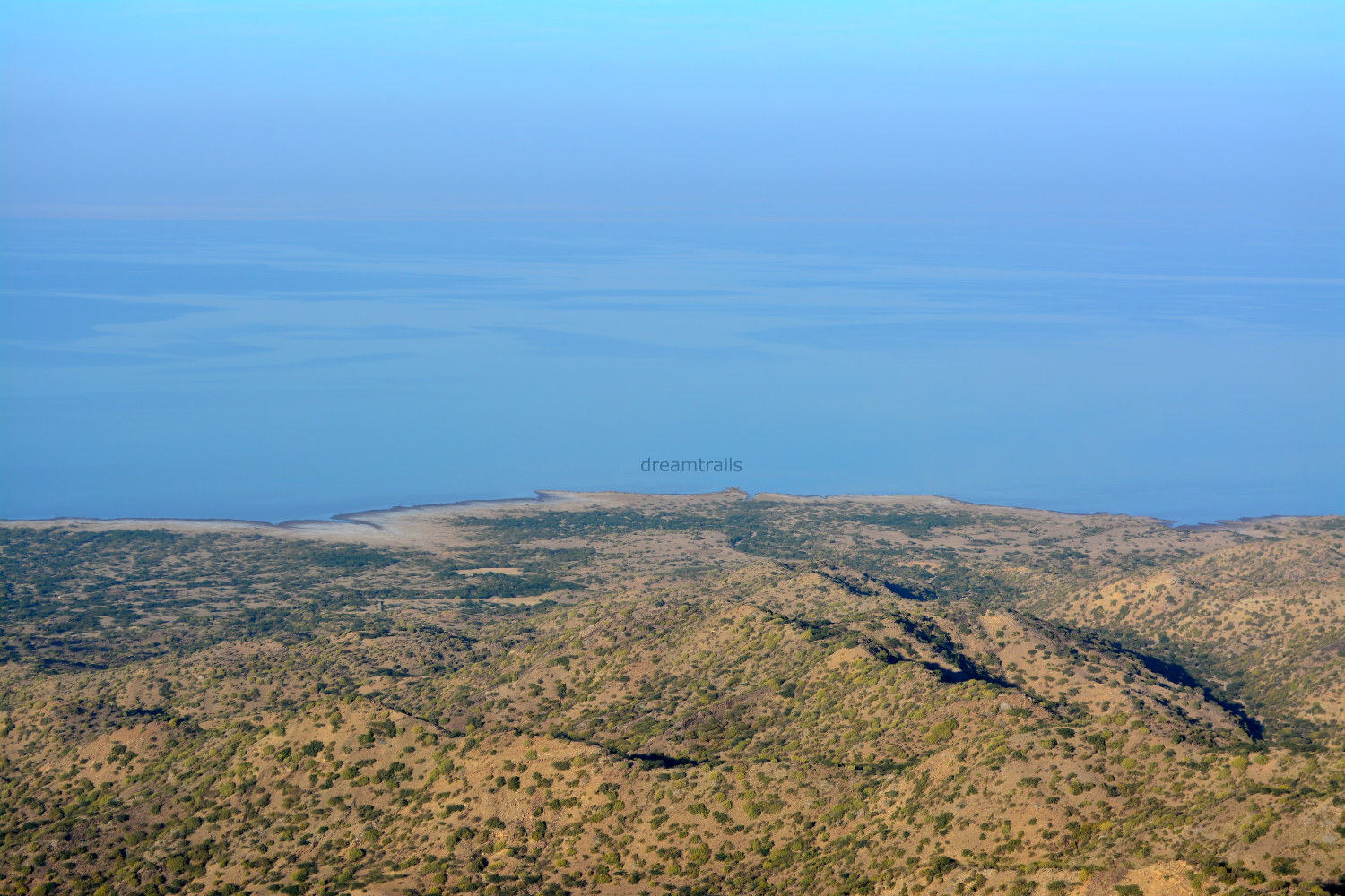View of Rann of Kutch from Kalo Dungar