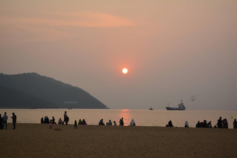 Rabindranath Tagore Beach, Karwar, Karnataka