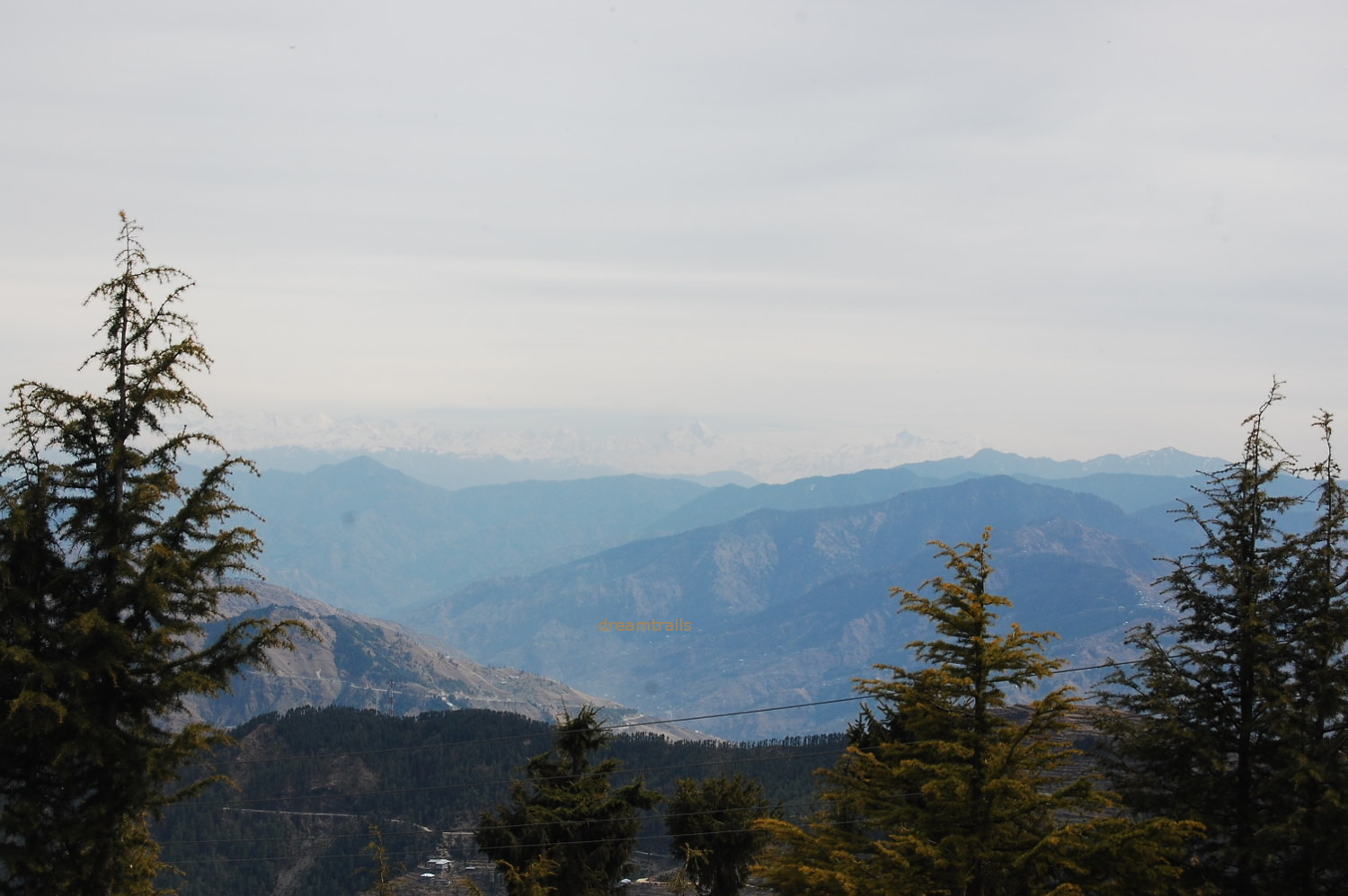 Awesome views of Himalayas from Kufri, Shimla