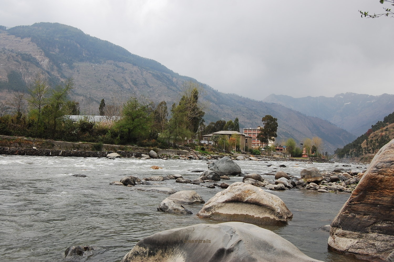 River Beas, Kullu, Himachal Pradesh