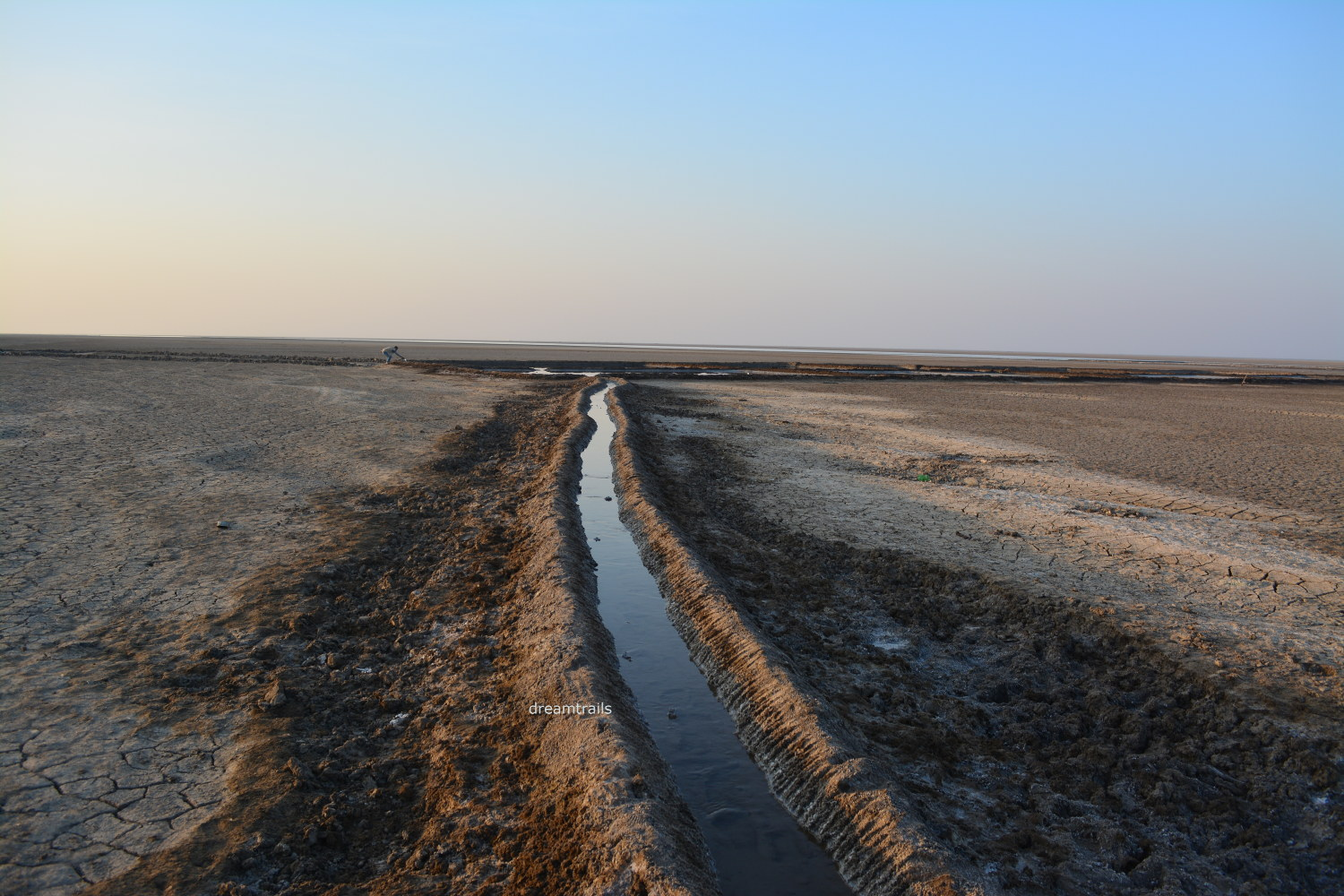 Salt Extraction at Little Rann of Kutch