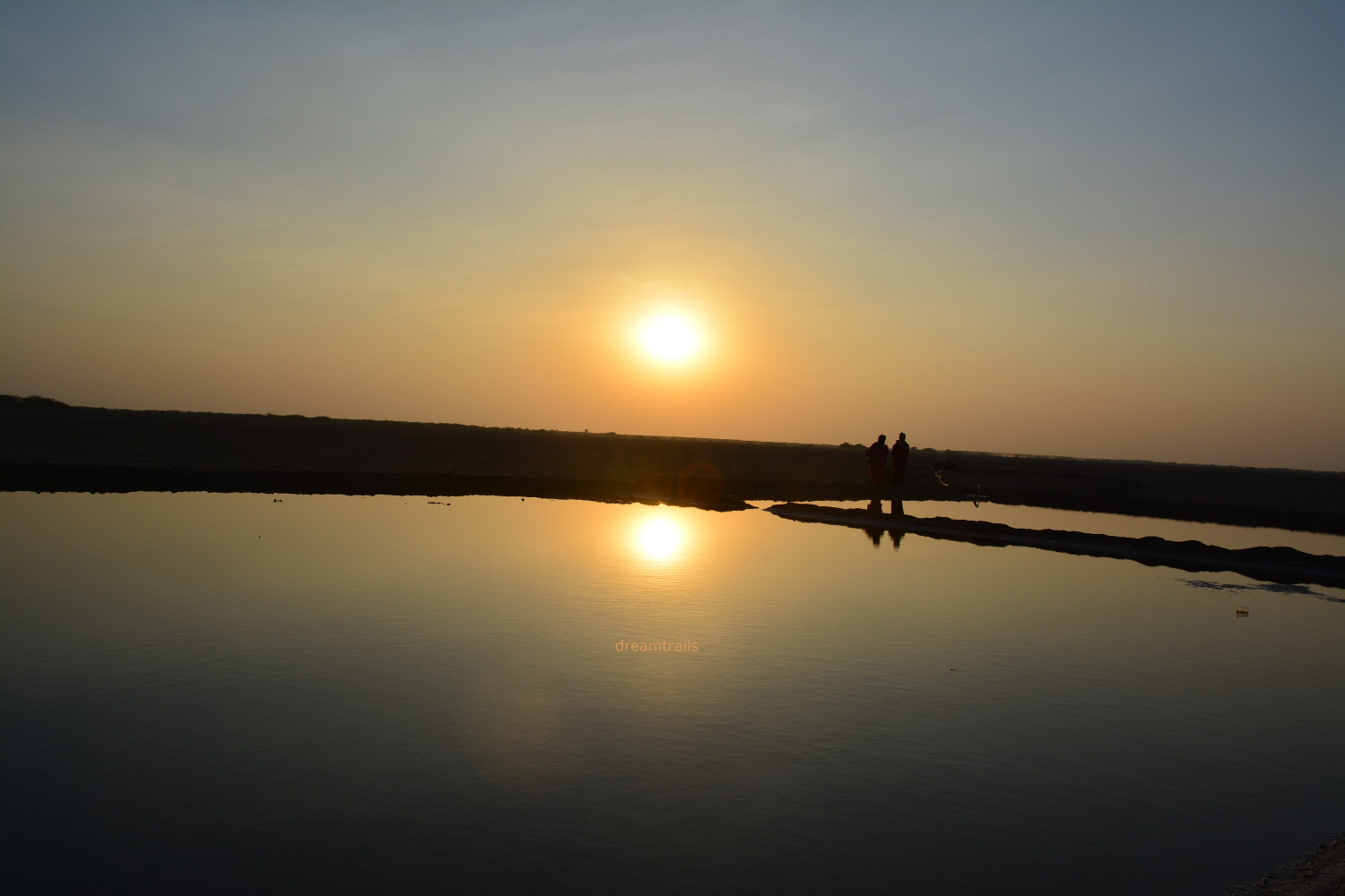 Sunset at Little Rann of Kutch
