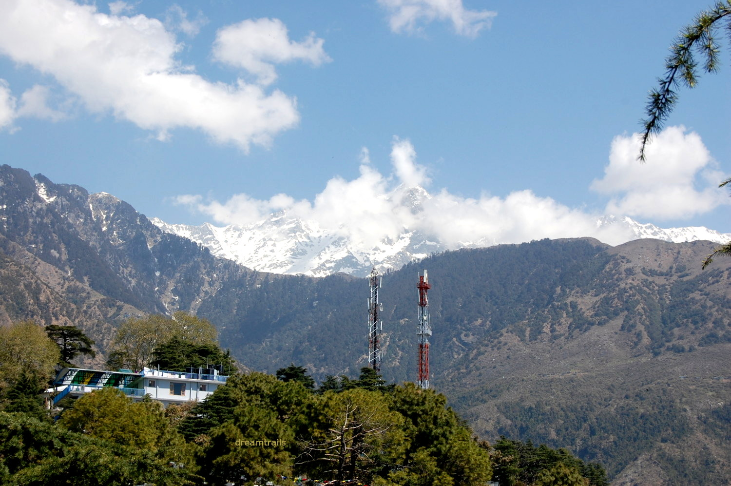 Awesome views from McLeod Ganj, Himachal Pradesh
