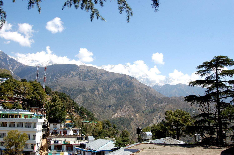 Town of McLeod Ganj, Himachal Pradesh