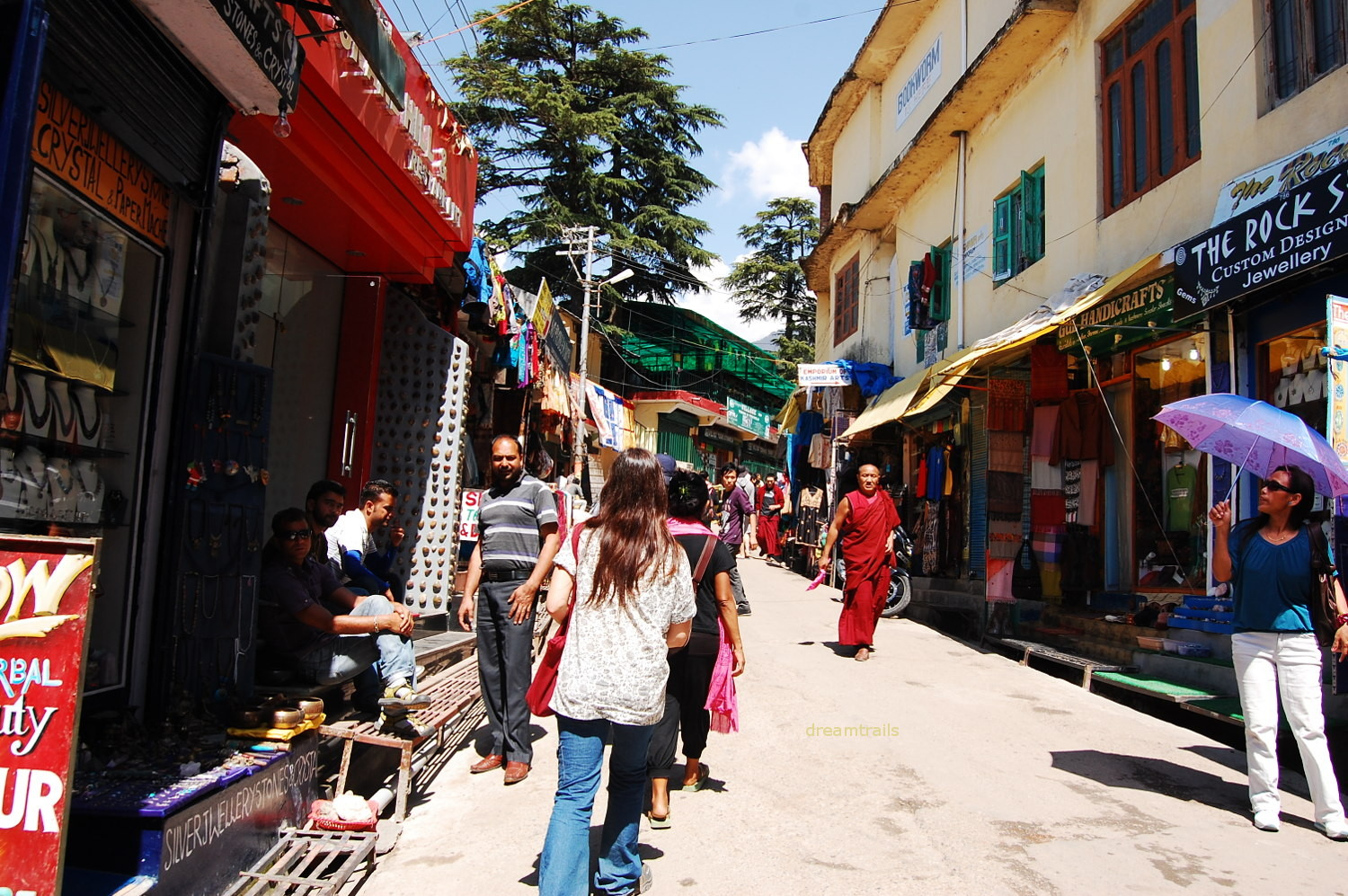 Narrow Lanes of McLeod Ganj