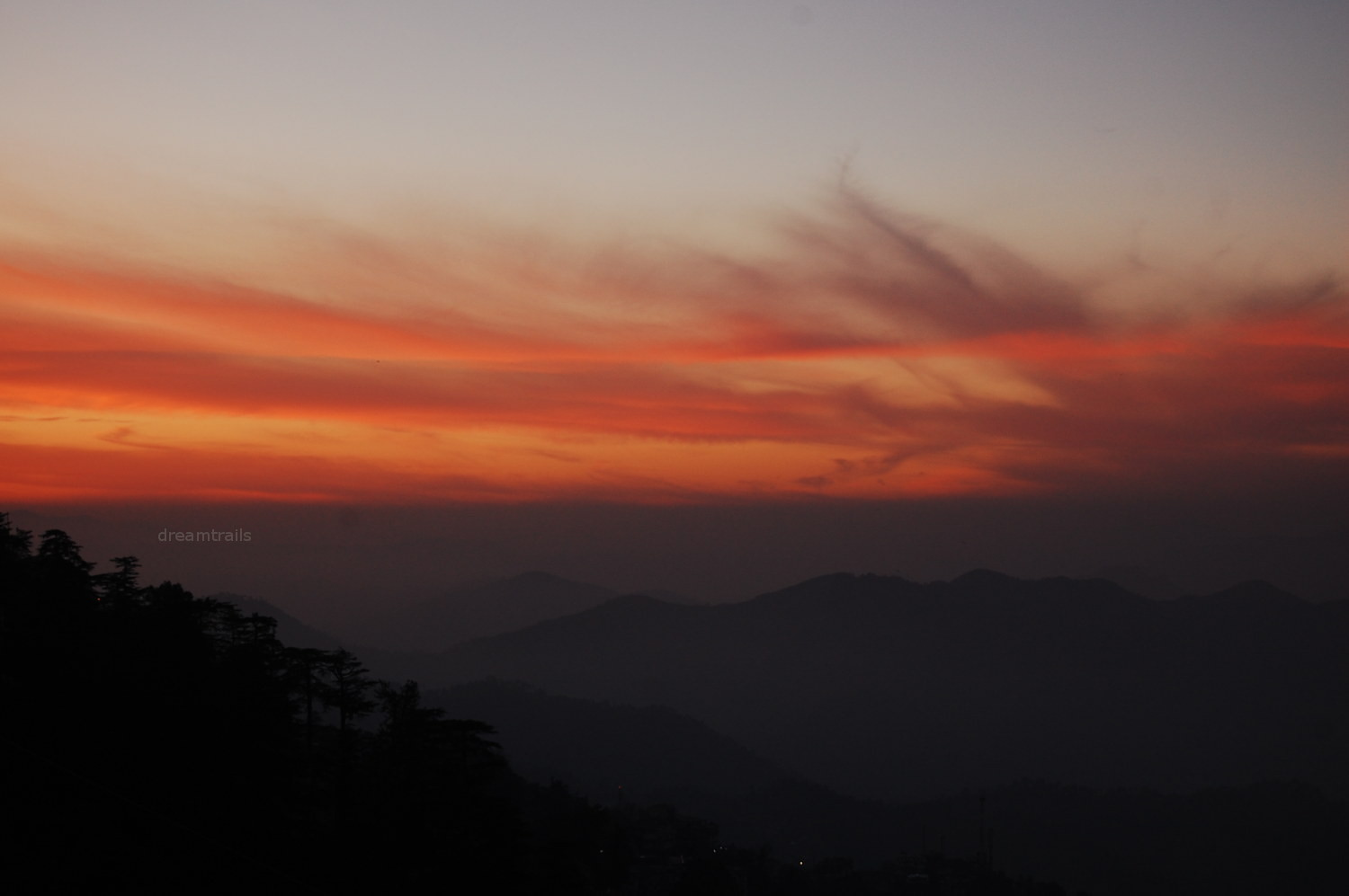 Sunset at The Ridge, Shimla