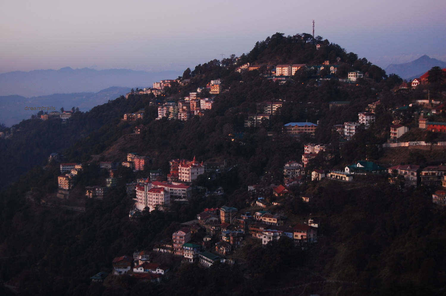 View from The Ridge, Shimla