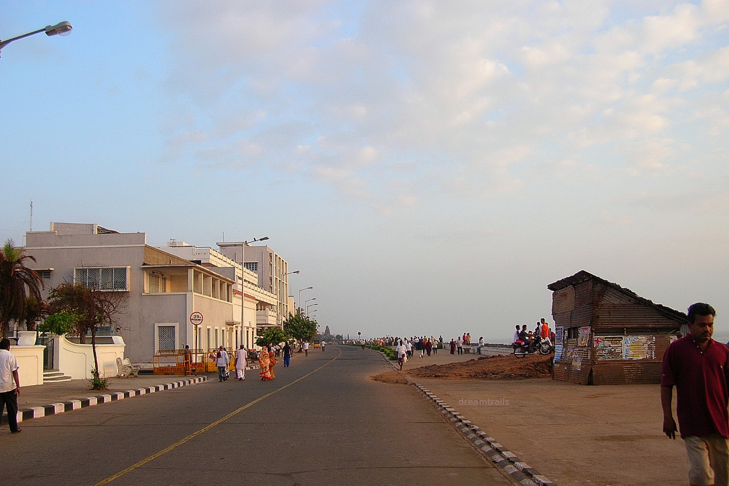 Rock Beach, Pondicherry