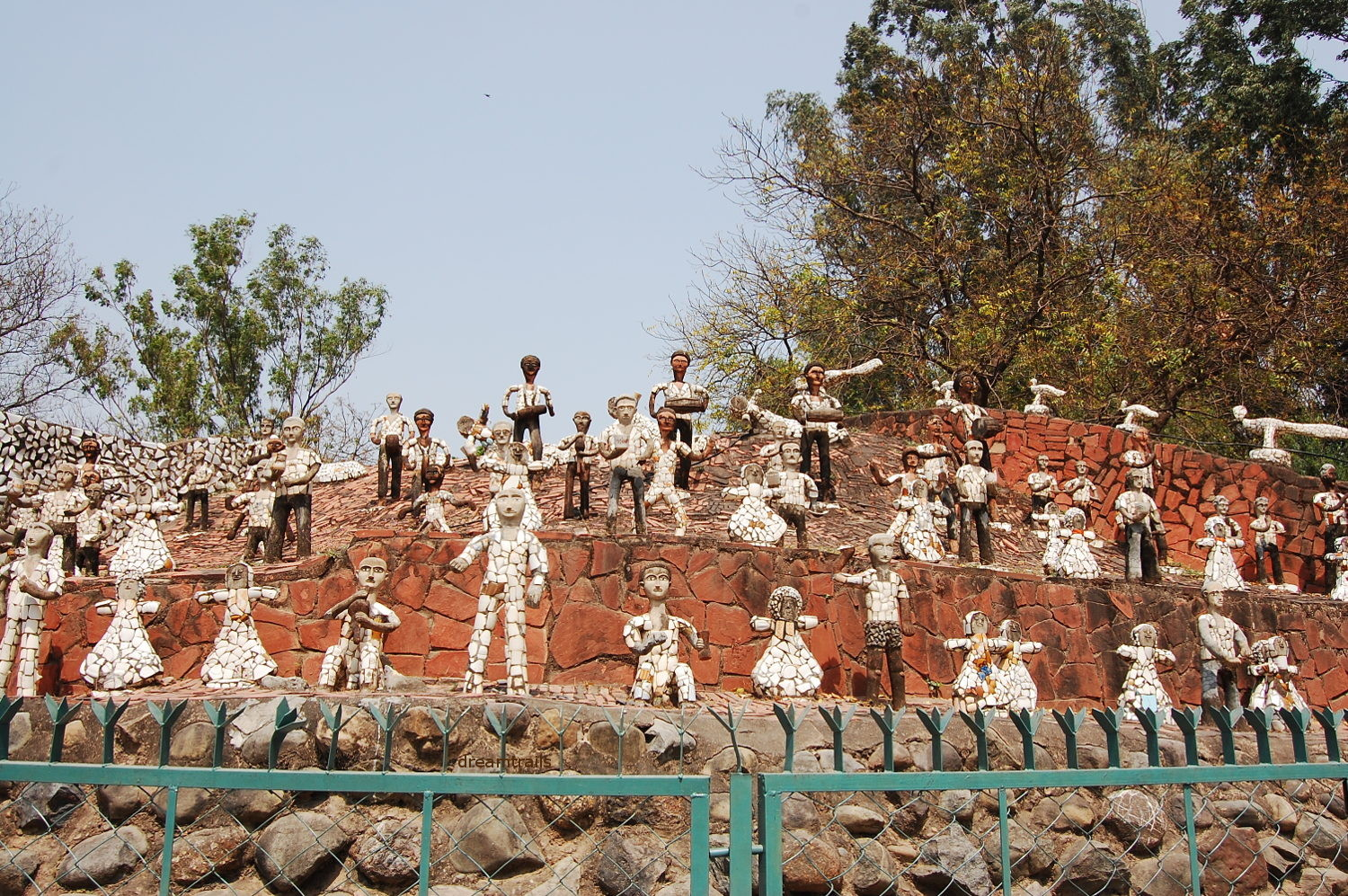 Nek Chand\'s Rock Garden at Chandigarh - dreamtrails