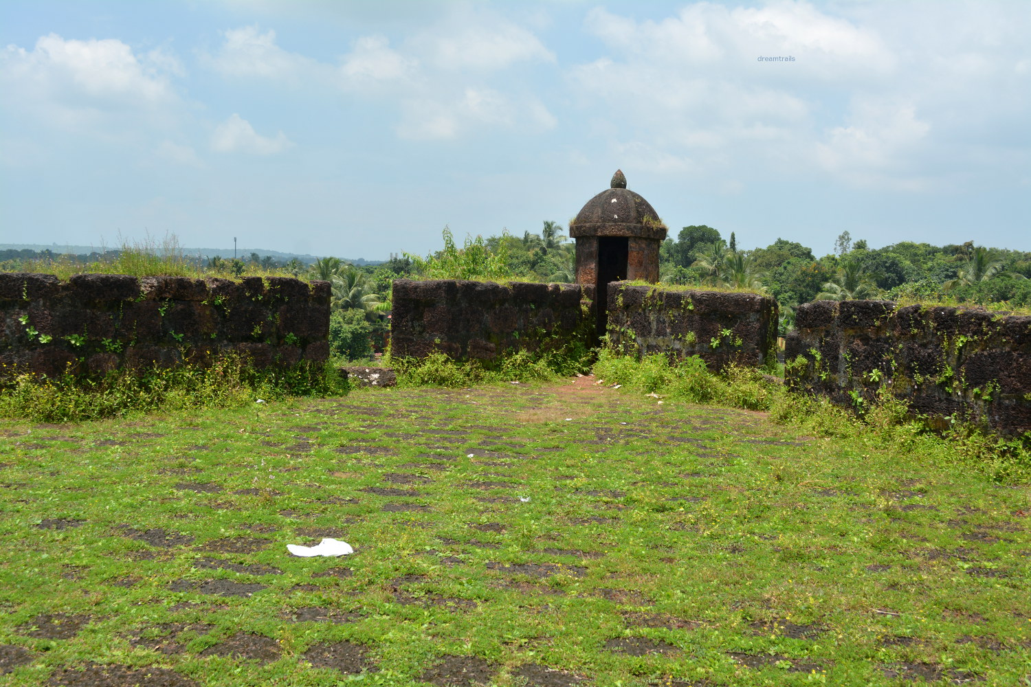 Bastion at Corjuem Fort
