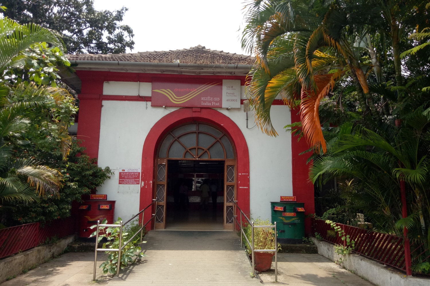 Post Office at Panjim