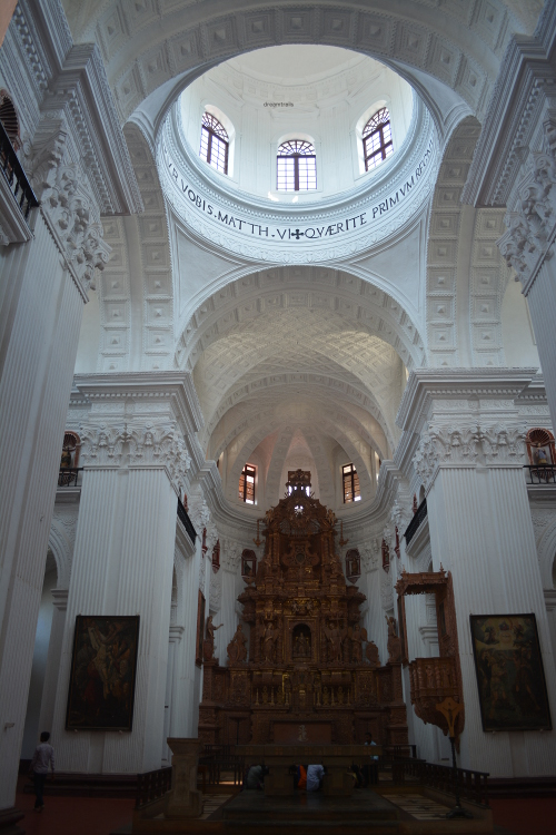 Inside The Chapel of St. Cajetan
