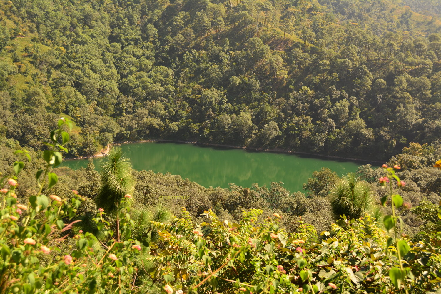 Garud Tal, one of Sattal, Nainital
