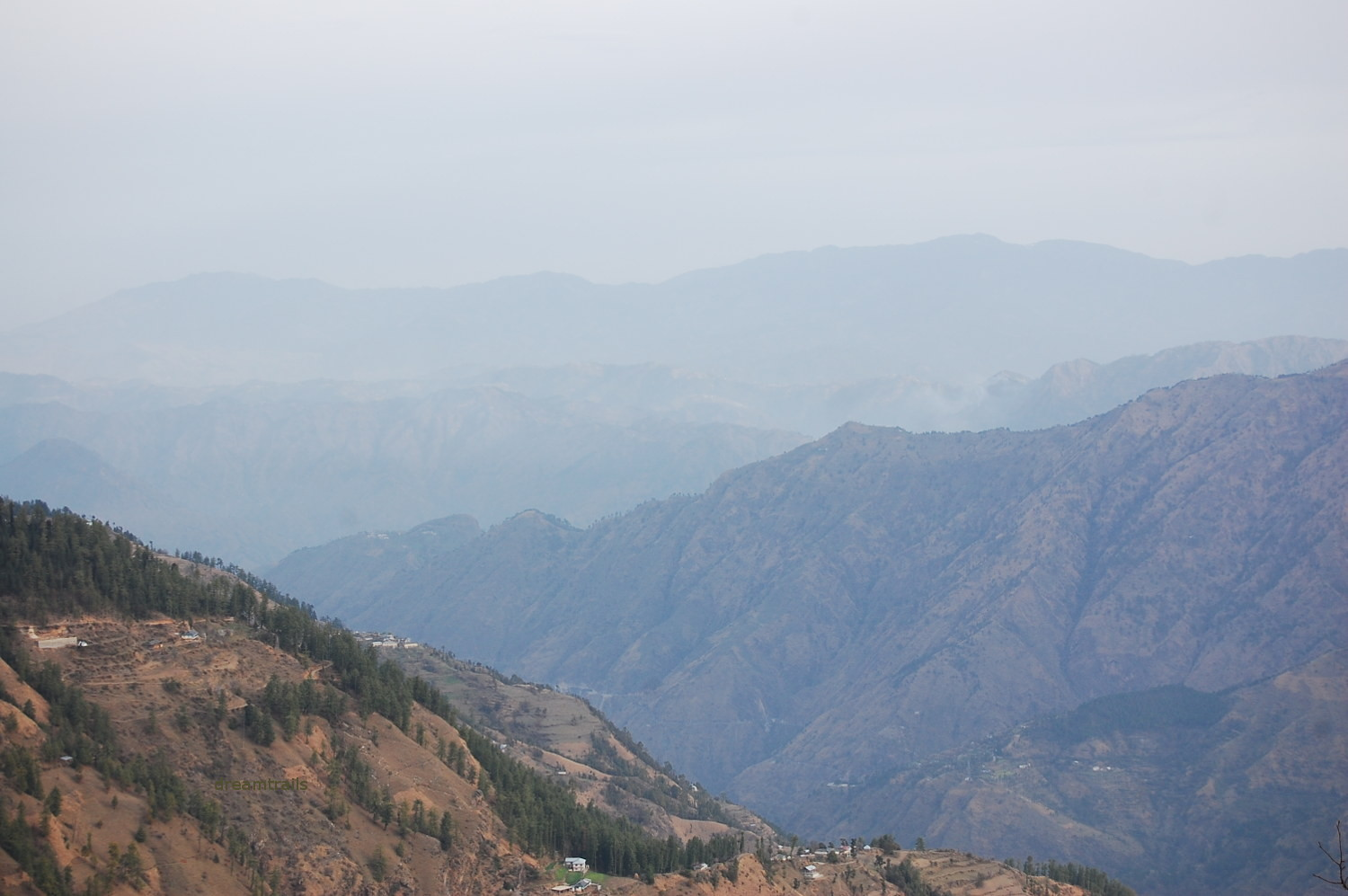 Hills and Valleys of Shimla