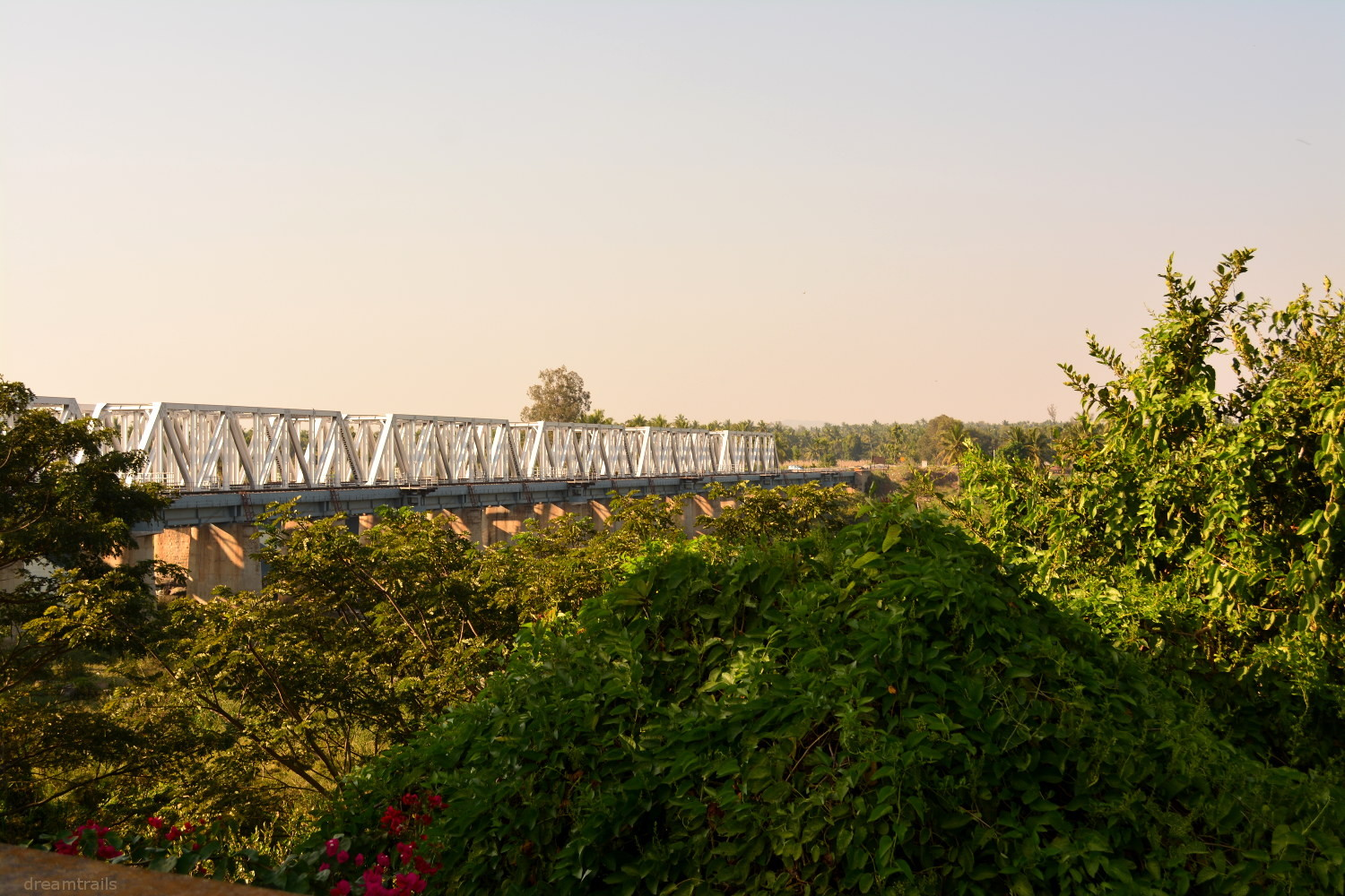 Railway Bridge, Srirangapatna, Karnataka, India