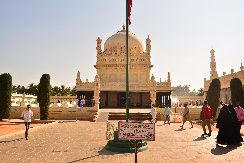 Gumbaz, Srirangapatna, Karnataka, India