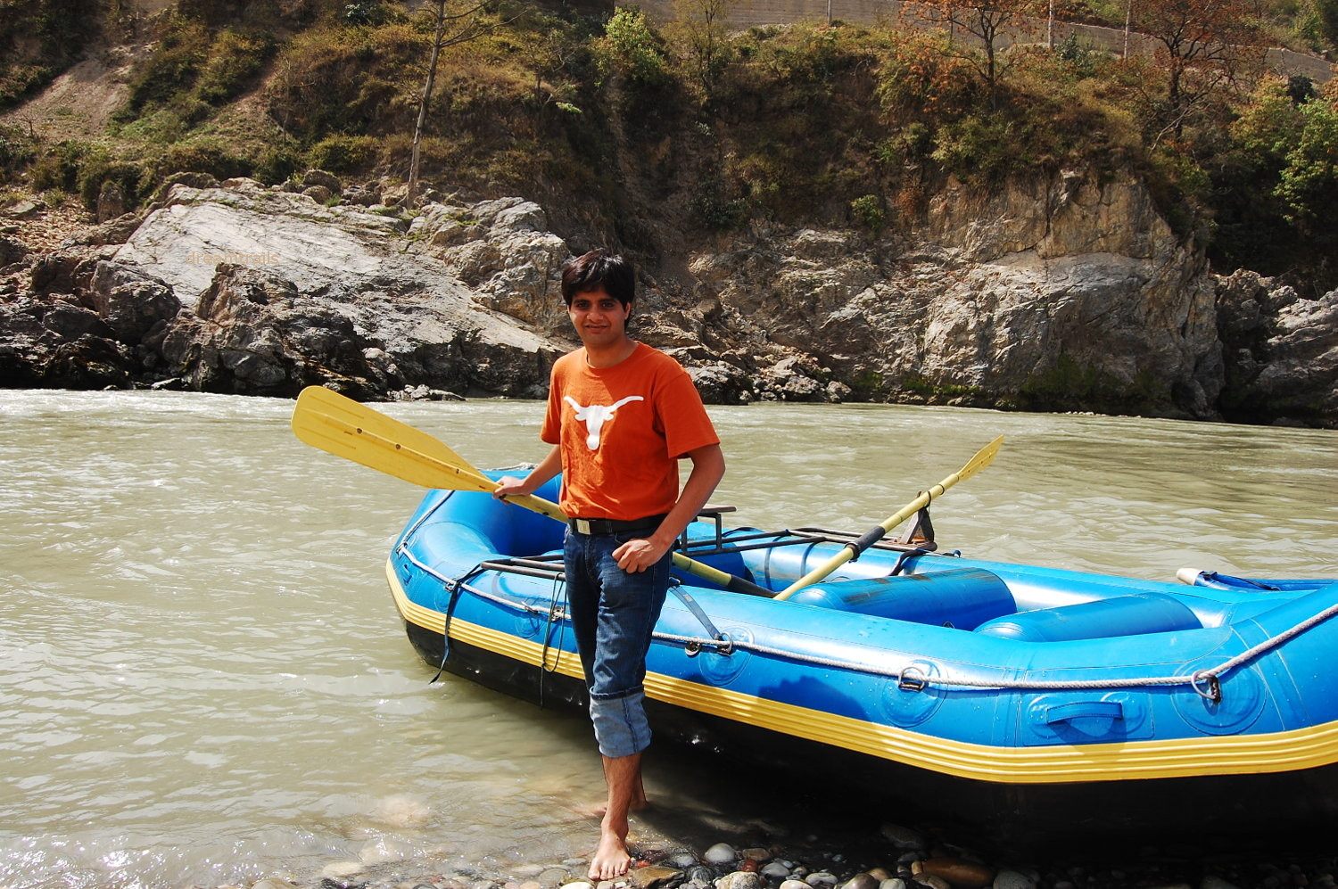 Water Rafting on River Sutlej, Tatta Pani / Tattapani