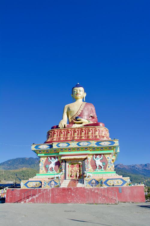 Buddha Park, Tawang, Arunachal Pradesh, India